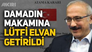 Hazine ve Maliye Bakanı Lütfi Elvan oldu, Lütfi Elvan kimdir?