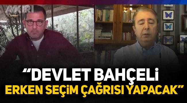 İbrahim Uslu: Devlet Bahçeli erken seçim çağrısı yapacak