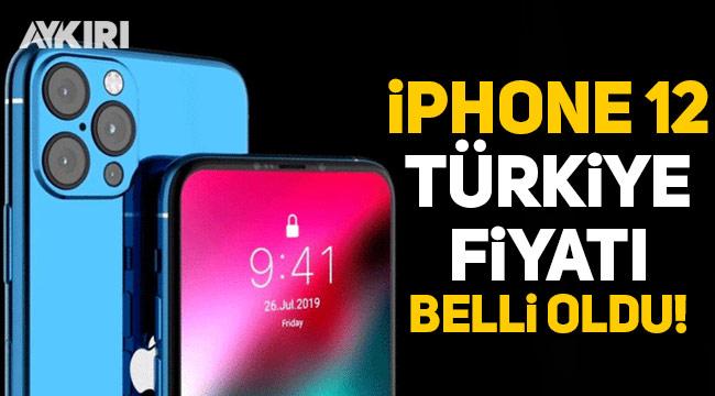 iPhone 12 serisinin Türkiye fiyatları belli oldu