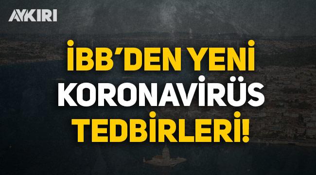 İstanbul Büyükşehir Belediyesi'nden yeni koronavirüs tedbirleri: İSMEK, spor salonları, tiyatrolar kapatılıyor