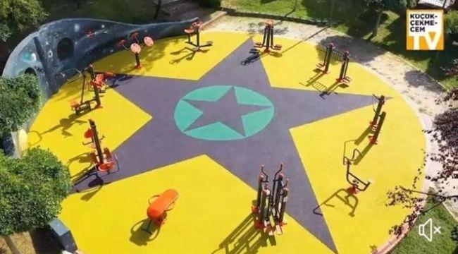 Küçükçekmece'deki parkta terör örgütü sembollerine soruşturma: İki üst düzey isim görevden alındı