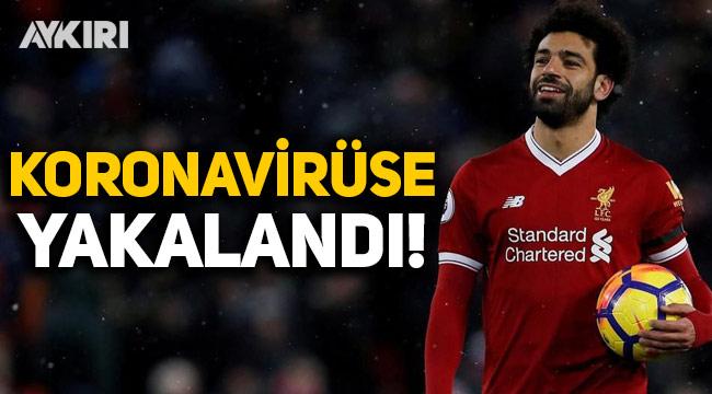 Liverpool'un yıldızı Salah, koronavirüse yakalandı