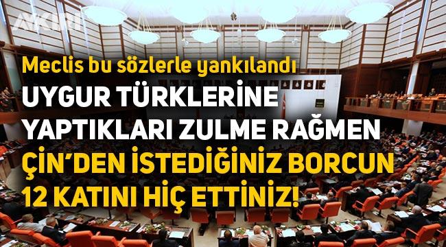 """Lütfü Türkkan: """"Çin'den istediğiniz borcun 12 katını deprem vergileri olarak toplayıp hiç ettiniz"""""""