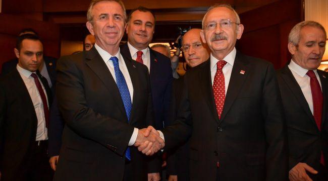 Mansur Yavaş'tan Kemal Kılıçdaroğlu'na destek!