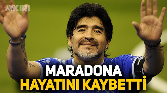 Maradona öldü mü, son dakika haberine göre Diego Armando Maradona hayatını kaybetti
