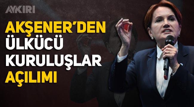 Meral Akşener'den Avrupa'da Ülkücü kuruluşların yasaklanmasına tepki