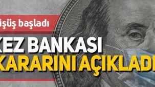 Merkez Bankası faiz kararını açıkladı, döviz kurlarına nasıl yansıdı