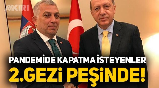 """Metin Külünk: """"Pandemide kapatma isteyenler 2.gezi peşinde"""""""