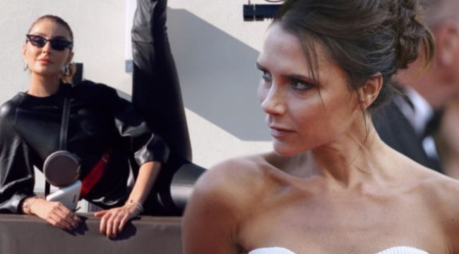 Özge Ulusoy'dan Victoria Bekcham'a: İşine bak kardeşim!