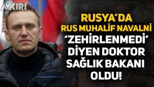 Rusya'da Rus muhalif Navalni