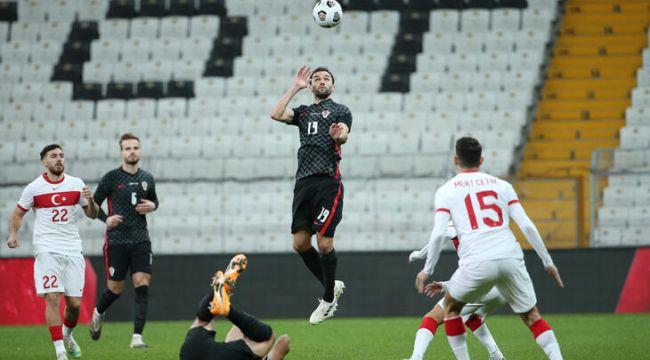 Türkiye ve Hırvatistan yenişemedi: 3-3