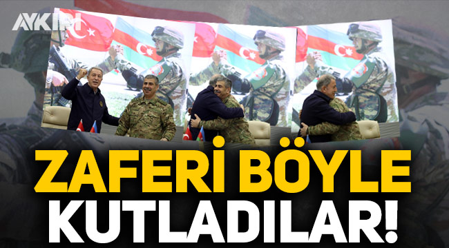 Türkiye ve Azerbaycan, Karabağ zaferini böyle kutladı!