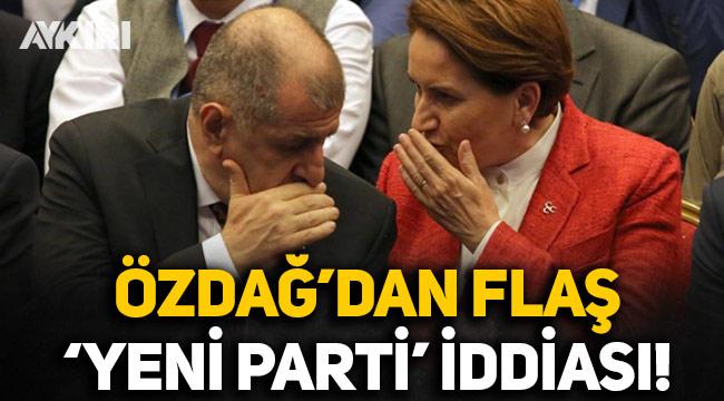 Ümit Özdağ'dan flaş 'yeni parti' iddiası: Meral Akşener, ayrı bir parti kurmamı önerdi