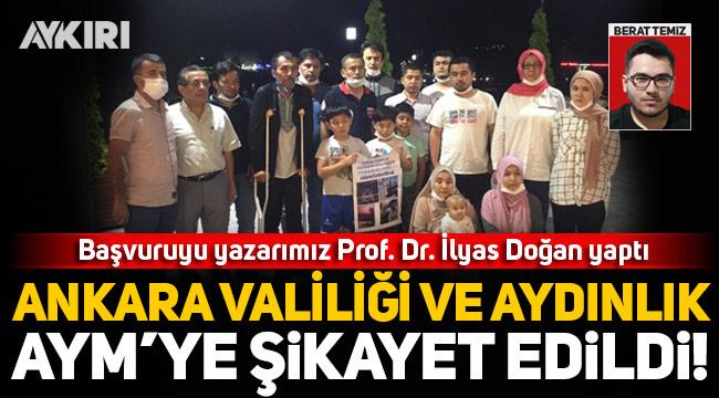 Uygur Türklerini hedef alan Aydınlık grubu ve Ankara Valiliği AYM'ye şikayet edildi