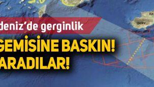 Yunan komutanın kontrolündeki Alman fırkateyni Türk gemisini bastı