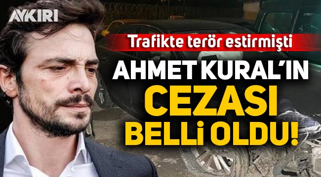 Ahmet Kural alkollü araç kullanıp kaza yapmıştı, cezası belli oldu!