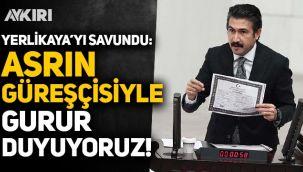 AK Partili Cahit Özkan, Hamza Yerlikaya'yı savundu: Asrın güreşçisiyle gurur duyuyoruz