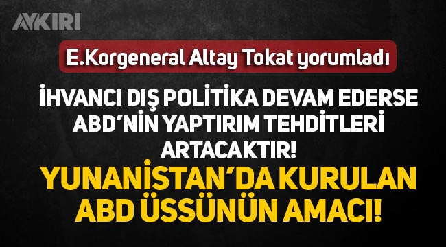 """Altay Tokat: """"İhvancı dış politika terk edilmeli"""""""
