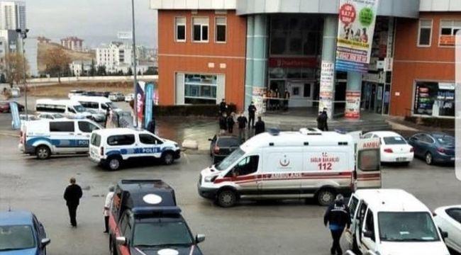 Ankara'da banka soygunu: 1 kişi yaralandı!