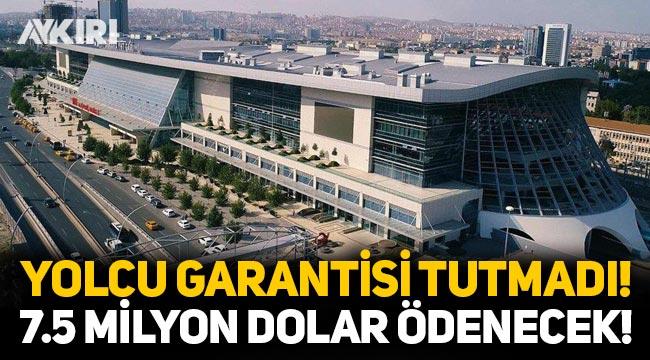 Ankara Tren Garı için verilen yolcu garantisi tutmadı! Firmaya 7.5 milyon dolar ödenecek