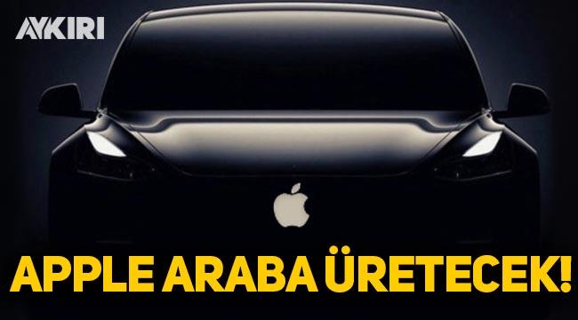 Apple 2024'te elektrikli araba üretecek
