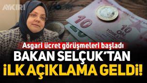 Bakan Zehra Zümrüt Selçuk'tan asgari ücret açıklaması