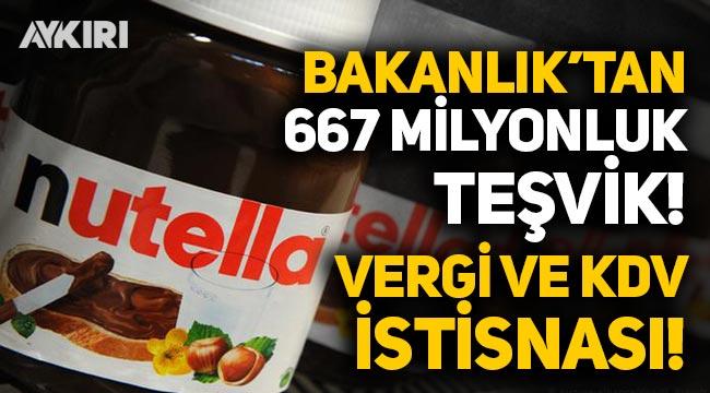 Bakanlık, İtalyan şirkete 667 milyonluk teşvik verdi, vergi muafiyeti ve KDV istisnası tanıdı!