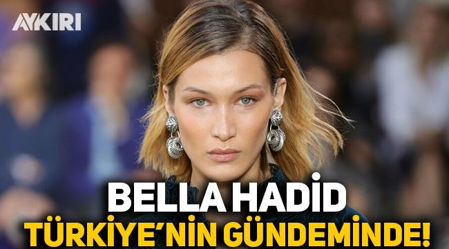 Bella Hadid'in paylaşımı Türkiye'nin gündemine oturdu! Bella Hadid kimdir? İşte Bella Hadid'in paylaşımı...
