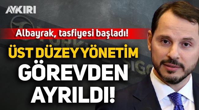 Berat Albayrak tasfiyesi başladı! Türkiye Sigorta'da üst düzey yetkililer görevden ayrıldı!