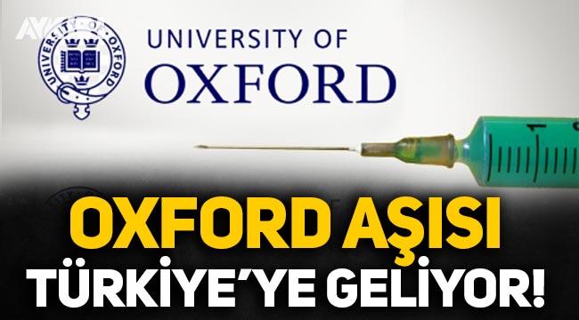 Bilim Kurulu üyesi açıkladı: Oxford aşısı yakın zamanda Türkiye'ye gelecek!