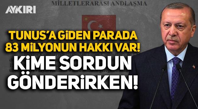 CHP'den Erdoğan'a 'Tunus'a hibe' tepkisi: 83 milyonun hakkı var, kime sordun gönderirken?