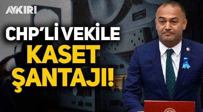 CHP'li milletvekiline kaset şantajı! Çete üyeleri tutuklandı