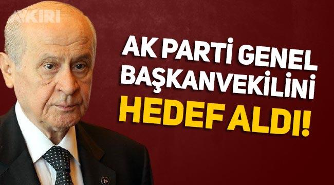 Devlet Bahçeli, son açıklamasında AK Parti içindeki bazı isimleri hedef aldı