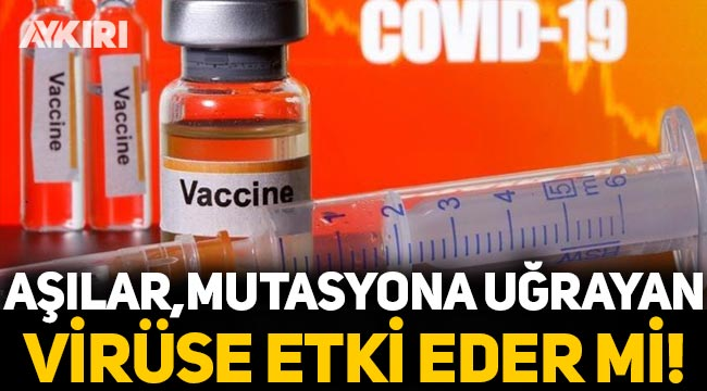 Dünya tedirgin: Aşılar, mutasyona uğrayan koronavirüse etki eder mi?