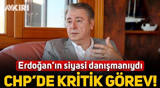 Erdoğan'a siyasi danışmanlık yapan İbrahim Uslu'ya CHP'de kritik görev: Kılıçdaroğlu'na danışmanlık yapacak