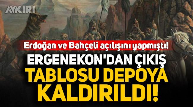Ergenekon'dan çıkış tablosu depoya kaldırıldı!