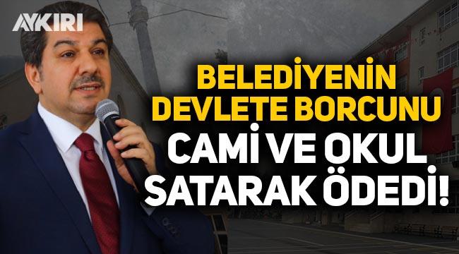 Esenler Belediyesi, devlete olan borcunu cami ve okul satarak ödedi!