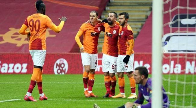 Galatasaray, Göztepe'yi evinde 3-1 mağlup etti