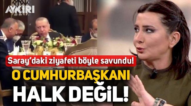 HaberTürk yazarı Yılman, Saray'daki sazlı sözlü ziyafeti böyle savundu: O Cumhurbaşkanı, halk değil!