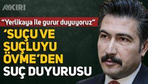Hamza Yerlikaya'yı savunan AK Partili Cahit Özkan'a