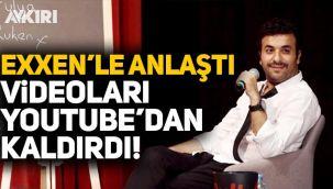Hasan Can Kaya, Exxen'le anlaştı, 'Konuşanları' Youtube'dan kaldırdı