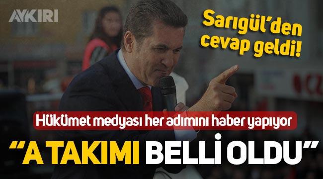 Hükümet medyası Mustafa Sarıgül'e çalışıyor! Sarıgül'den Aykırı'ya açıklama