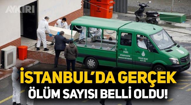 İstanbul'da gerçek ölüm sayısı: Bulaşıcı hastalıktan ölenlerin sayısı 15 bini geçti