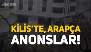 Kilis'te Arapça anonslar