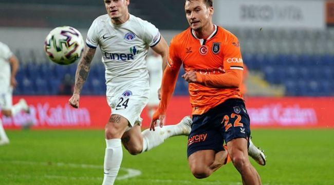 Medipol Başakşehir, Kasımpaşa'yla 2-2 berabere kaldı