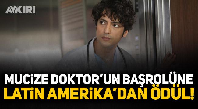 Mucize Doktor dizisinin başrolü Taner Ölmez'e ödül!