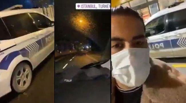 Polis aracını İranlı Youtuber'a veren sorumlu polis görevden uzaklaştırıldı