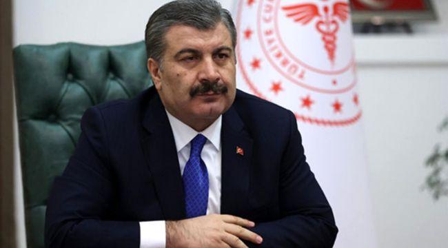 """Sağlık Bakanı Koca'dan aşı açıklaması: """"BioNTech ile anlaşma imzalandı; depolarda 550 bin doz hazır bekliyor"""""""