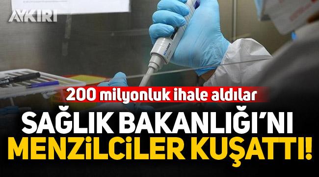 Sağlık Bakanlığı'ndan Menzilcilere 200 milyonluk ihale!