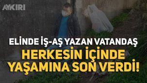 Samsun'dan eline iş-aş yazan vatandaş intihar etti